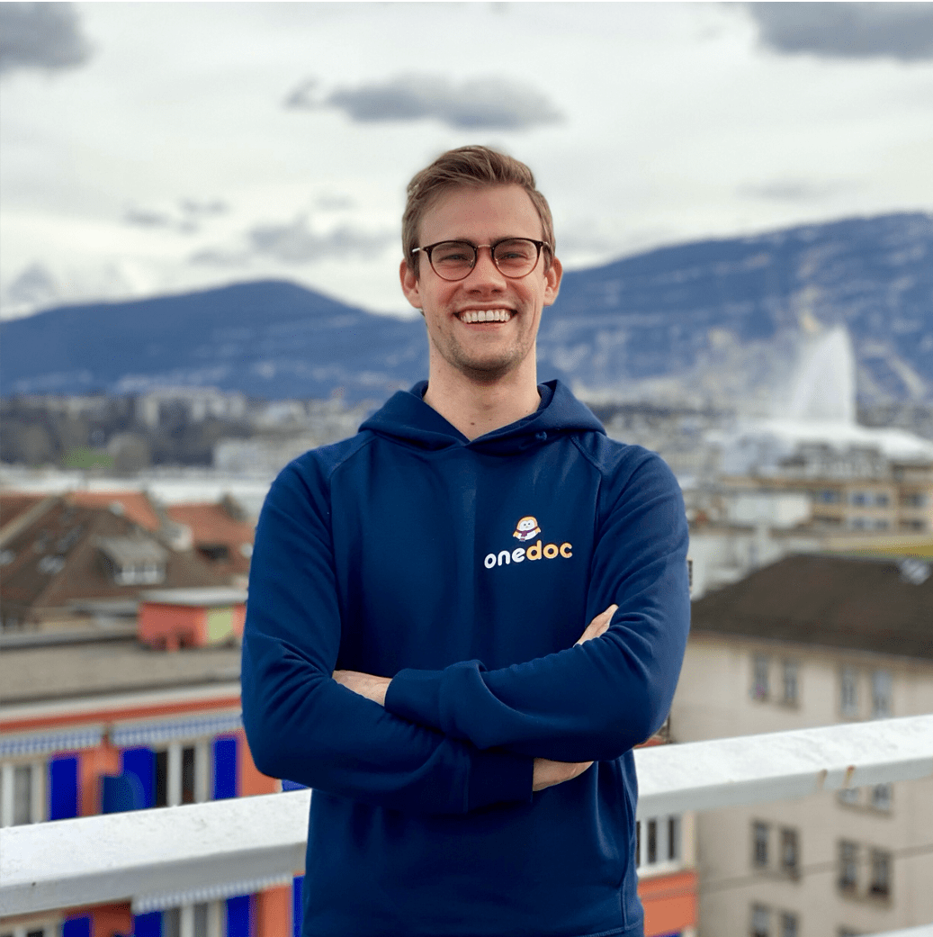 Arthur Germain, CEO OneDoc - entreprendre.ch